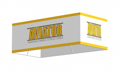 Fabric Structures Product : Aviator hanging fabric structure four sided  quot